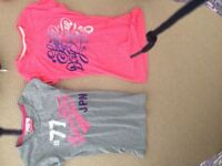 Two Superdry Women's T shirts