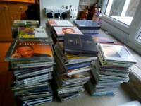 Jazz and classical music cds over 200 discs
