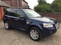 Land Rover Freelander 2 2.2 TD4 HSE Auto command shift with FSH and 12 months MOT