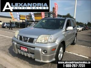 2006 Nissan X-Trail LE 4x4 safety includes