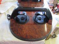 Mint Condition Pair of Unused FABBRI KOLUMBUS Car Roof Magnetic Anti-theft Ski Rack Holders