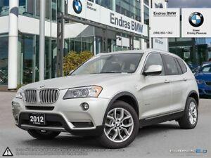 2012 BMW X3 Xdrive28i *Prem,R.Cam,Xenons*