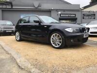 BMW 1 SERIES 2.0 118D M SPORT 5d 141 BHP (black) 2011
