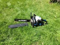 MacAllister petrol chainsaw in very good condition and working order.