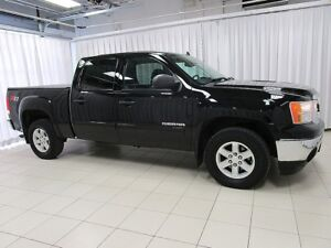 2013 GMC Sierra SLE CREW CAB 5DR 6PASS WITH POWER GROUP, KEYLESS
