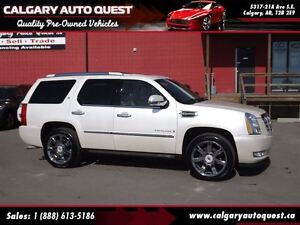 2009 Cadillac Escalade 4WD/B.CAM/DVD/3RD ROW/LEATHER/ROOF
