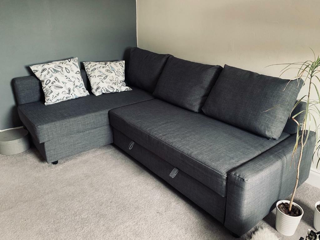 Ikea Sofa Bed Friheten With Storage In Yoker Glasgow Gumtree