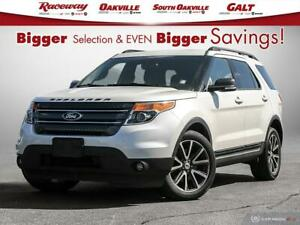 2015 Ford Explorer XLT, AWD, 3RD ROW, SUNROOF TRADE-IN