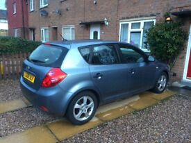 Kia ceed 1.6crdi/£30 road tax/timing chain/2 owners