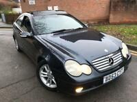 Mercedes-Benz C Class 2.1 C220 CDI SE 2dr PANORAMIC ROOF+HISTORY CALL 07709297381