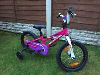 Girls 16 inch specialized coaster bike