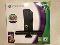 Xbox 360 4GB Console with Kinect Sensor & 3 games