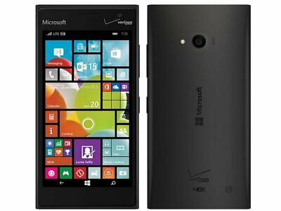 Nokia Lumia 735G Black  Verizon Unlocked (Work With AT&T, T-Mobile & More)