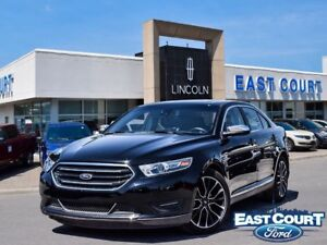 2017 Ford Taurus Limited, AWD, Moonroof, NAV, Leather Seats