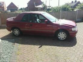 Escort Cabriolet 1.8 turbo diesel 1990
