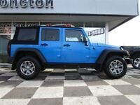 2014 Jeep Wrangler Rubicon Touch Screen 6 Speed