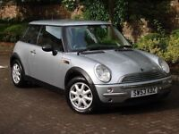 EXCELLENT EXAMPLE!!! 2004 MINI ONE 1.6 3dr, HALF LEATHER, 1 YEAR MOT, AA WARRANTY AVAILABLE