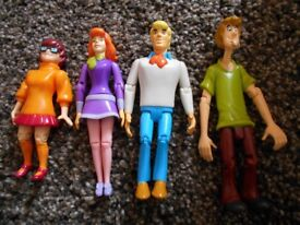 Scooby Doo Characters x 4