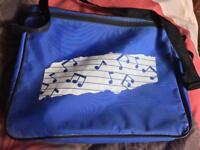 Blue Music Bag