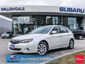 2011 Subaru Impreza 2.5 i 5Dr Hatchback One Owner