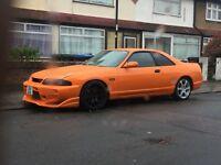 Nissan skyline r33 px welcome
