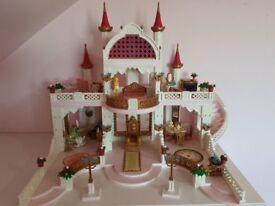 Playmobil Girls Castle & Accessories. Mint Condition