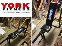 Bench Press Weights Bench. YORK FITNESS Adjustable Incline Barbell