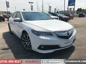 2015 Acura TLX Elite | NAV | LEATHER | ROOF | AWD