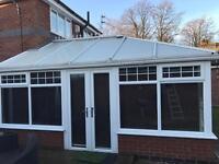 5m x 5m conservatory