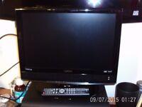 television 19 in technikfi with remote controle