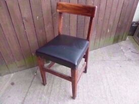 Chair Leather Based Dining Delivery Available £3