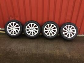 "Seat Leon mk3 2015 alloy wheels with tyres set 16"""