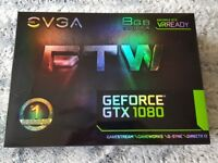 EVGA GTX 1080 FTW Immaculate Condition Warranty