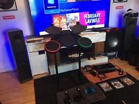 BARGAIN LOOK! PS3, Games, Camera, Guitar Hero Kit, Mic's. not PS4 vr wheel g27 29 oculus iPhone 7 6