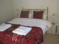 Large, comfortable, double rooms available for short lets.