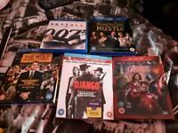 5×blu-ray movies