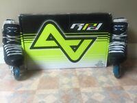 Alkali RPD Team Inline Roller Hockey Skates - Mens Size 6