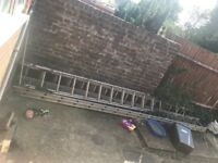 Extendable roof ladders