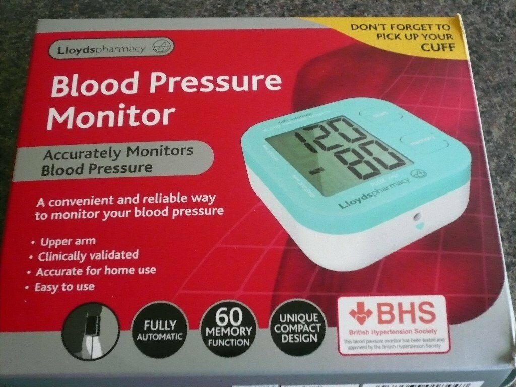 Blood Pressure Monitor from Lloyds Pharmacy