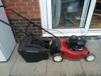 mountfield petrol lawn mower good condition with box