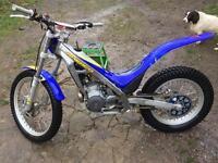 Sherco 125 2003 (trials bike) *must see*