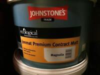 2x 10 litre Johnston's Magnolia Emulsion