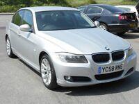 BMW 320D SE, 2008 '58 REG, 87'000 MILES, FSH, TURBO DIESEL, 6 SPEED, NEW MOT & SERVICE, LOW TAX, VGC