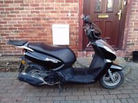 2015 Peugeot Kisbee 100 scooter, low mileage, good runner, ideal first moped, not ps sh vity 125