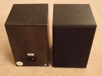 Pair of BMS speakers plus free pair of Phillips speakers