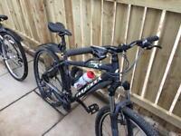 Mountain bikes x2