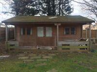 Large Timber Cabin