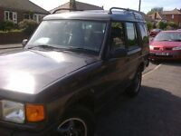 LAND ROVER DISCOVERY TDI AUTOMATIC 7 SEATS. R REG.