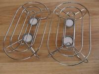 2 Tea light table top hostess / food warmers - Pokesdown BH5 2AB
