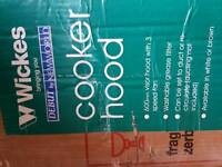 Wickes cooker hood for sale cheap